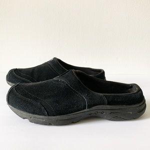 Easy Spirit Alannah black Suede Comfort Slip-on 9